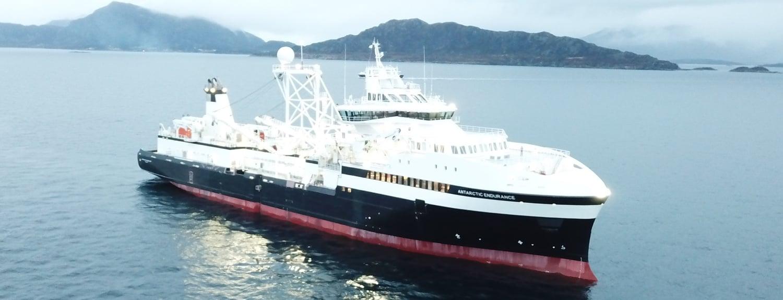 QRILL Aqua_vessel operations_Antarctic Endurance_hero image