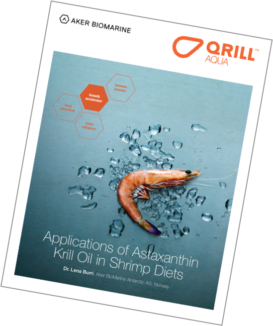 QRILL Aqua - Astaxanthin Krill Oil in Shrimp Diets